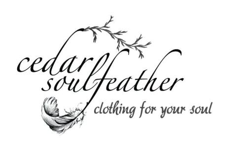 I created this clothing label for a talented, local designer.