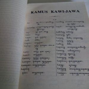 Kamus Kawi Jawa Winter isi
