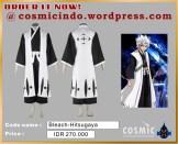 jual kostum cosplay - 08880.600.3287_Bleach Hitsugaya