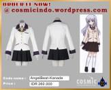 Kostum Cosplay-Angel Beats Kanade T-088806003287