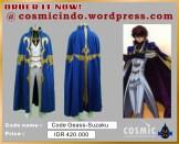 Kostum Cosplay-Code Geas Kururugi Suzaku Rounds-088806003287