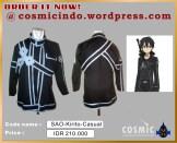 Kostum Cosplay-SAO Kirito Casual Custom-088806003287