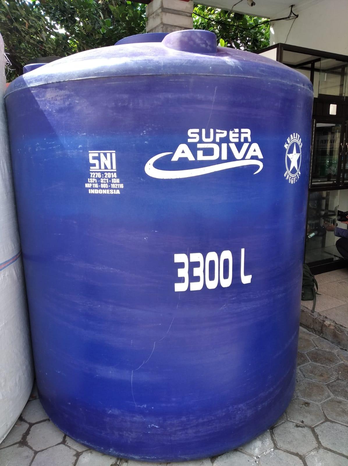 tandon plastik 3300 liter