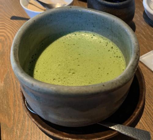茶寮の抹茶ラテ