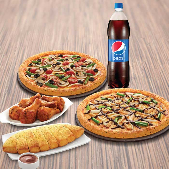 Menu Domino Pizza