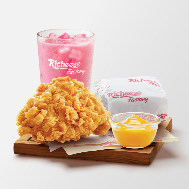 Menu Richeese Factory