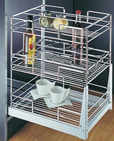 jual perlengkapan dapur rak piring tarik