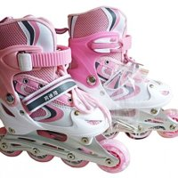 Inline Skate Anak dan Dewasa - Inline Skate Pink