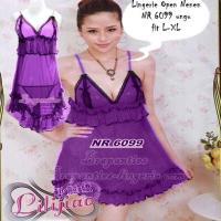 Baju Lingerie Hot - NR 6099 ungu