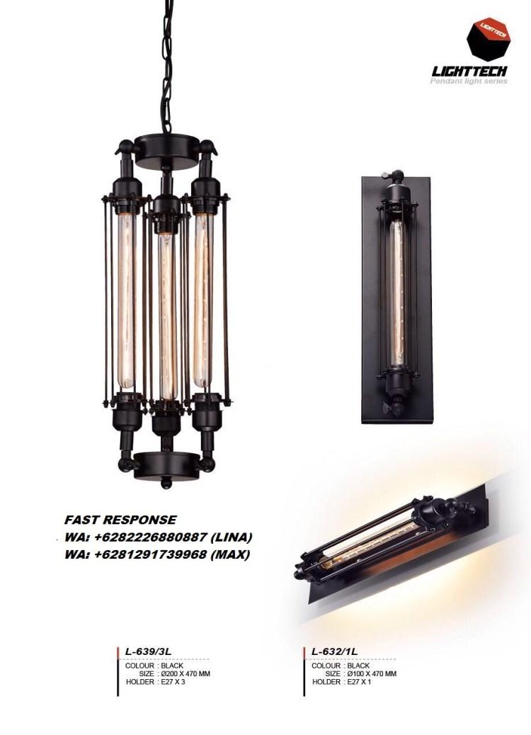 LAMPU HIAS LAMPU GANTUNG INDUSTRIAL JOGJA