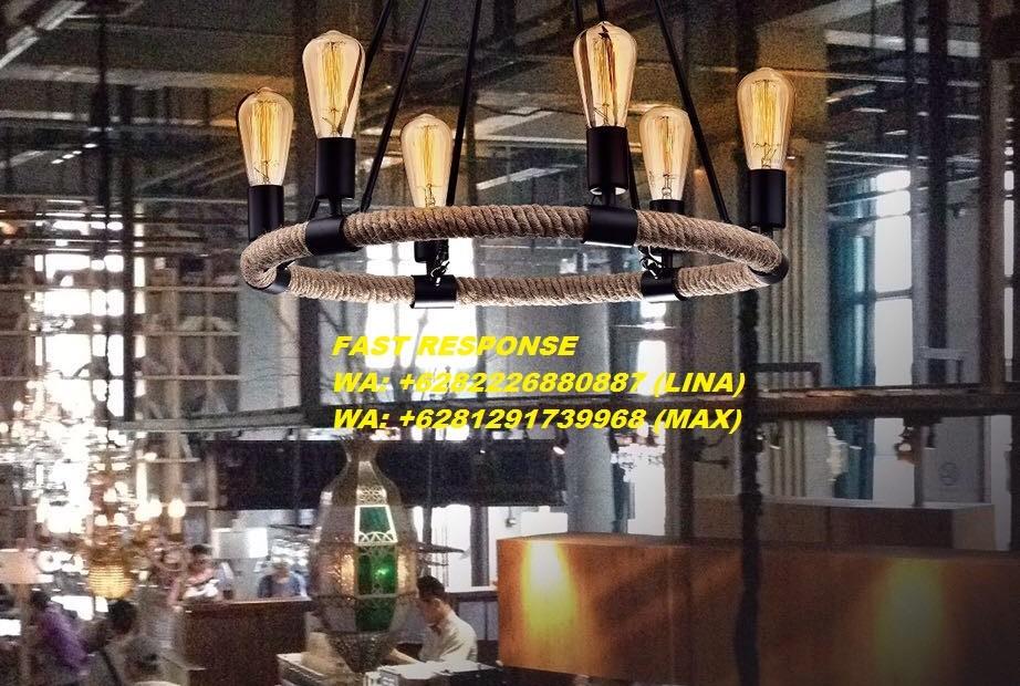 A33 LAMPU HIAS LAMPU GANTUNG INDUSTRIAL JOGJA EDISON L666