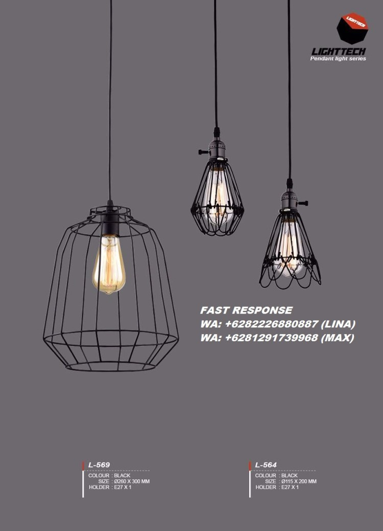 A48 LAMPU HIAS LAMPU GANTUNG INDUSTRIAL JOGJA L569-L564