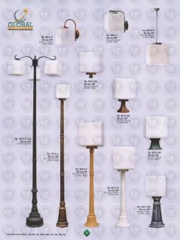 013 LAMPU PILAR DINDING ANDONG DELMAN MALIOBORO