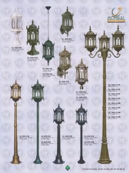 016 LAMPU PILAR DINDING ANDONG DELMAN MALIOBORO