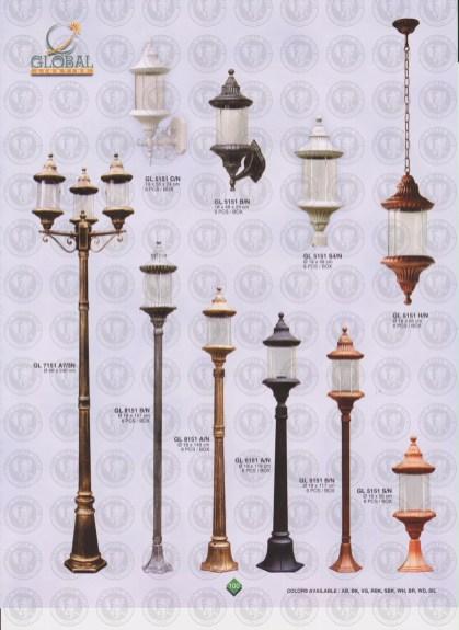 100 LAMPU PILAR DINDING ANDONG DELMAN MALIOBORO