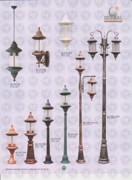 101 LAMPU PILAR DINDING ANDONG DELMAN MALIOBORO