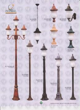 102 LAMPU PILAR DINDING ANDONG DELMAN MALIOBORO