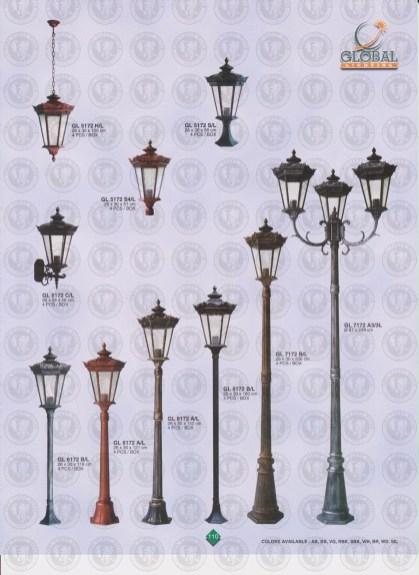 110 LAMPU PILAR DINDING ANDONG DELMAN MALIOBORO
