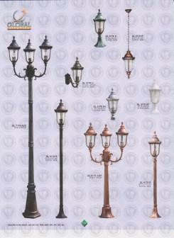 113 LAMPU PILAR DINDING ANDONG DELMAN MALIOBORO