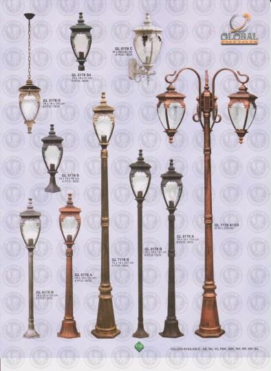 116 LAMPU PILAR DINDING ANDONG DELMAN MALIOBORO