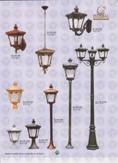 119 LAMPU PILAR DINDING ANDONG DELMAN MALIOBORO