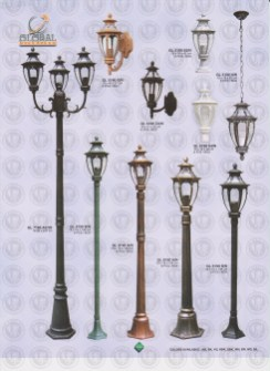 122 LAMPU PILAR DINDING ANDONG DELMAN MALIOBORO