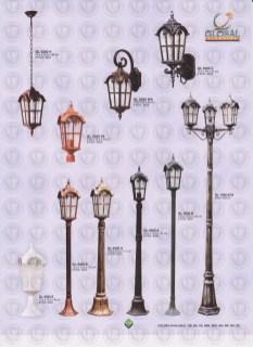 134 LAMPU PILAR DINDING ANDONG DELMAN MALIOBORO
