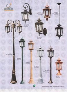 138 LAMPU PILAR DINDING ANDONG DELMAN MALIOBORO