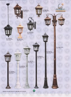 141 LAMPU PILAR DINDING ANDONG DELMAN MALIOBORO