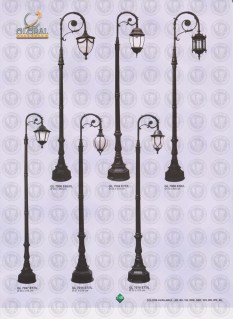 148 LAMPU PILAR DINDING ANDONG DELMAN MALIOBORO
