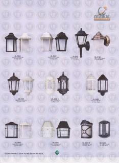 149 LAMPU PILAR DINDING ANDONG DELMAN MALIOBORO
