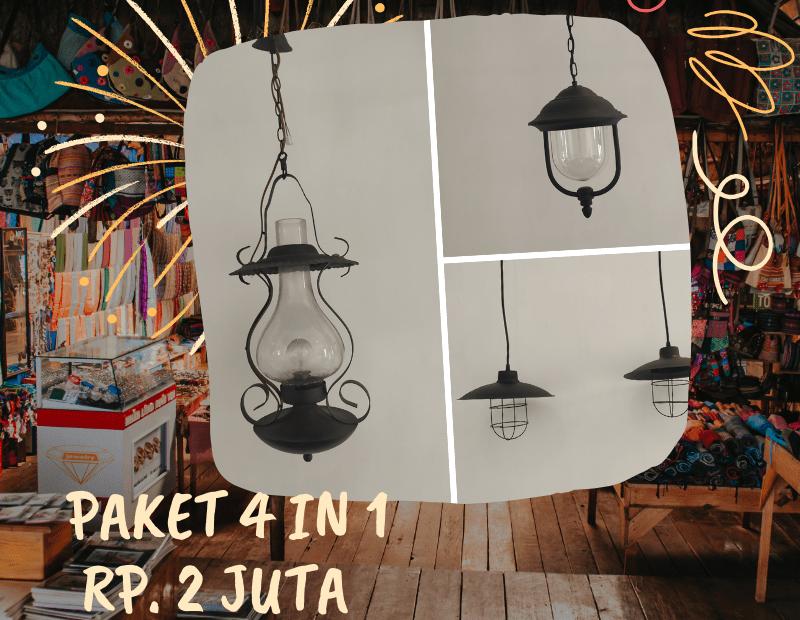 lampu gantung klasik toko listrik global promo
