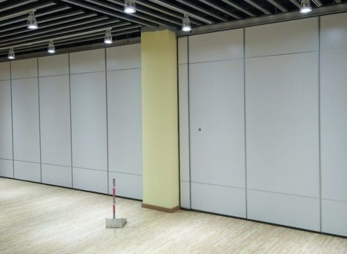 Partisi sliding wall
