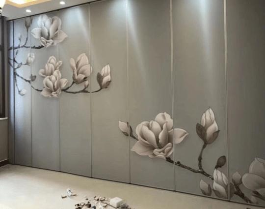 wallpaper 2D saat beli pintu geser lipat