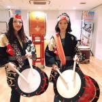 中国台湾体験業者様 和太鼓体験取材