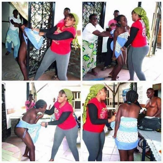 Shocking - 17 Year Old, Stripped N3ked after Caught Slaying a Married Man