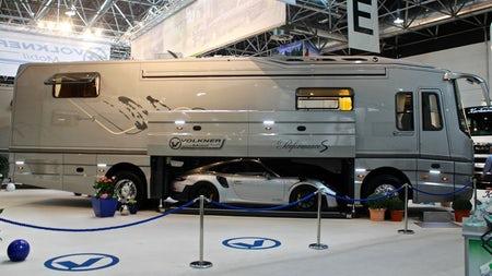 Mobility with Attitude - Million-dollar motorhomes and classy caravans of the 2018 Caravan Salon
