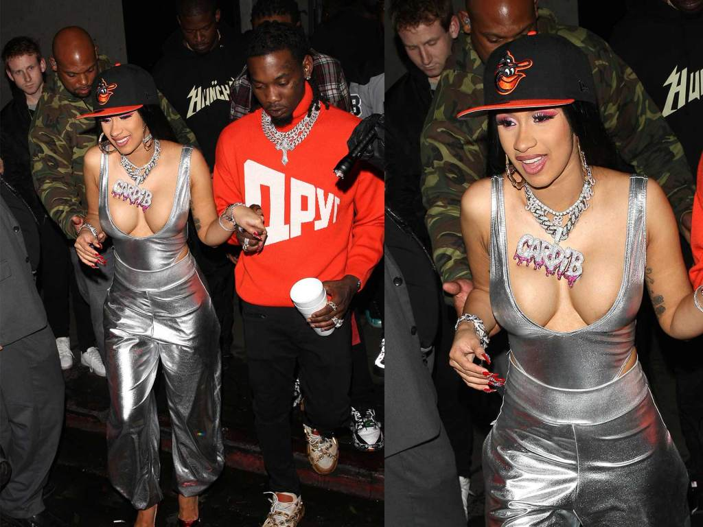 Cardi B Exposes Huge Chest in New Viral Photo