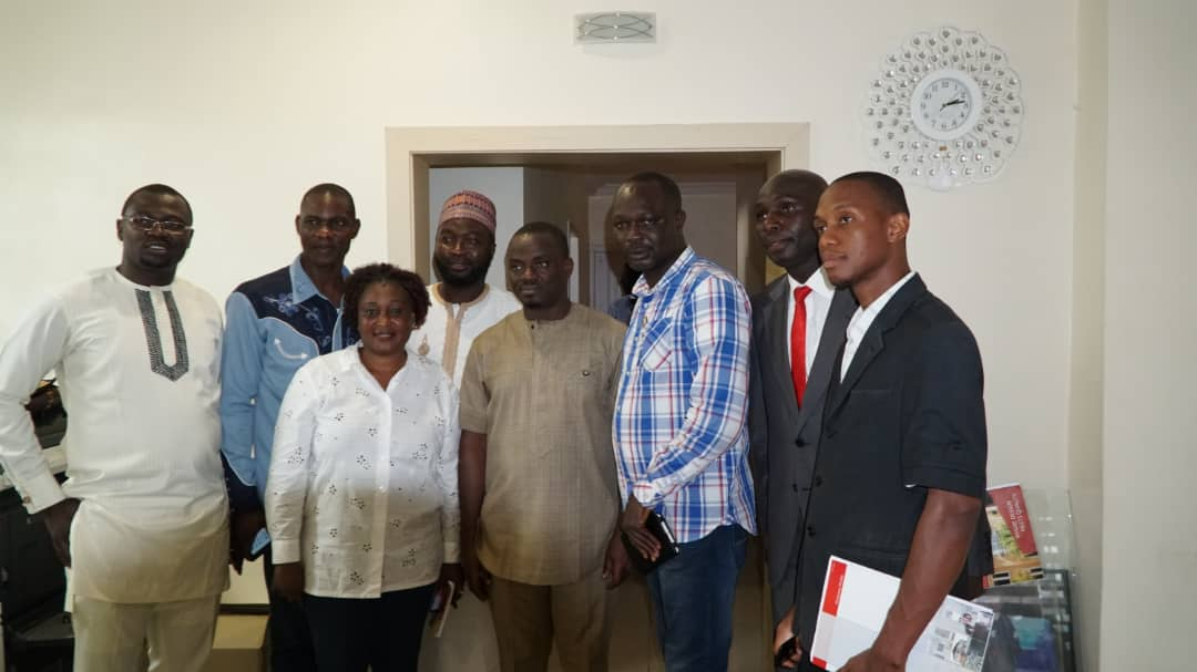 Hon. Davematic Receives Delegates of Youth in Politics - Shares Vision for Nasarawa State