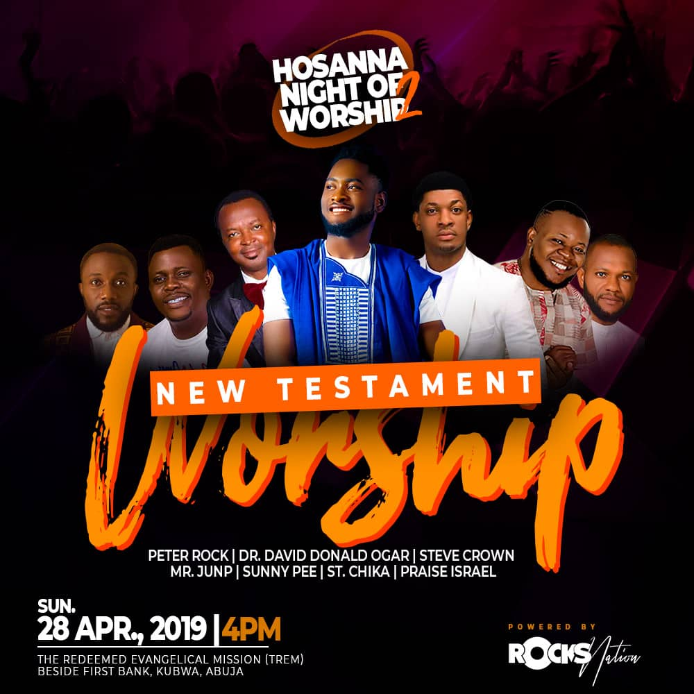 ROCK NATION PRESENTS HOSANNA NIGHT OF WORSHIP 2019
