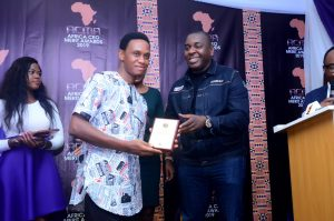 Co-Founder of Toktok9ja Media — Abel Wealth Bags CEO's Mer­it Award