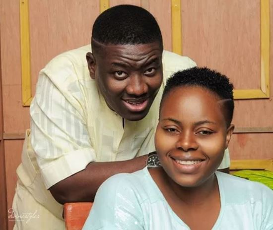 Titilope Adeboye with Husband Leke