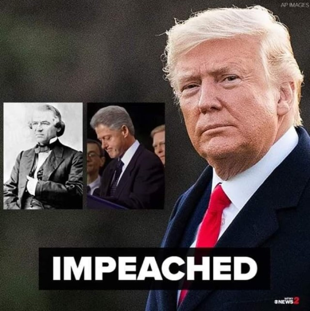 US President Tump impeached