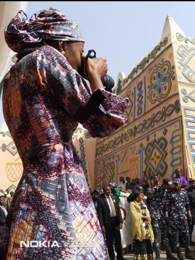 Hanan Buhari Arriving