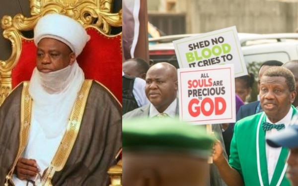 Nigerian Supreme Council for Islamic Affairs knock Adeboye and CAN's protest against insecurity