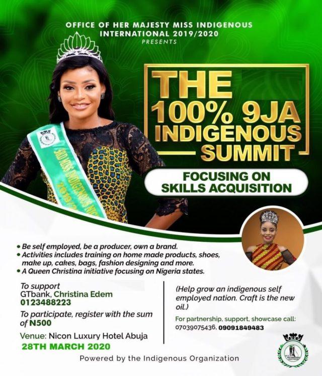 The 100% 9JA Indigenous Summit