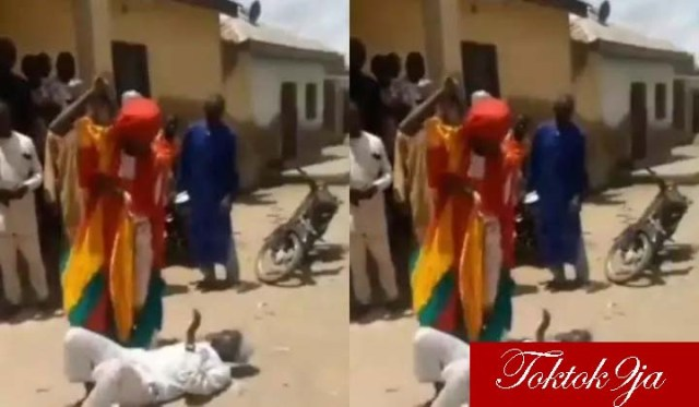 Imam Flogged in Public