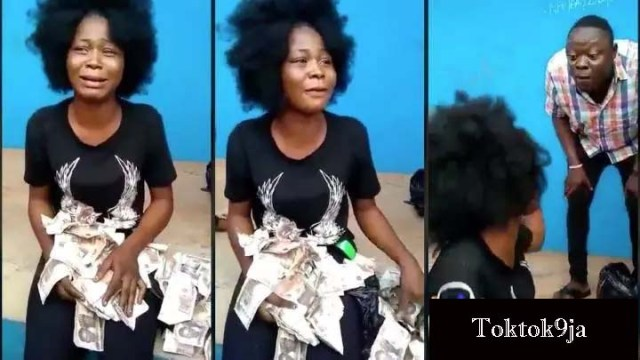 Slay Queen Napped While Trying to Deposit Fake N200,000 Banknotes At POS