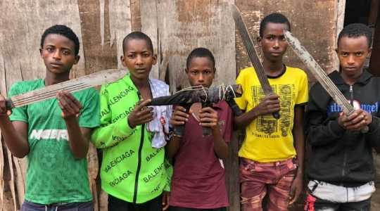 5 Teenage Armed Robbers Arrested