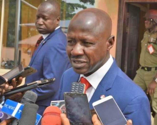 Breaking - Presidency Confirms Suspension of Magu, Appoints Umar as EFCC Acting Chairman
